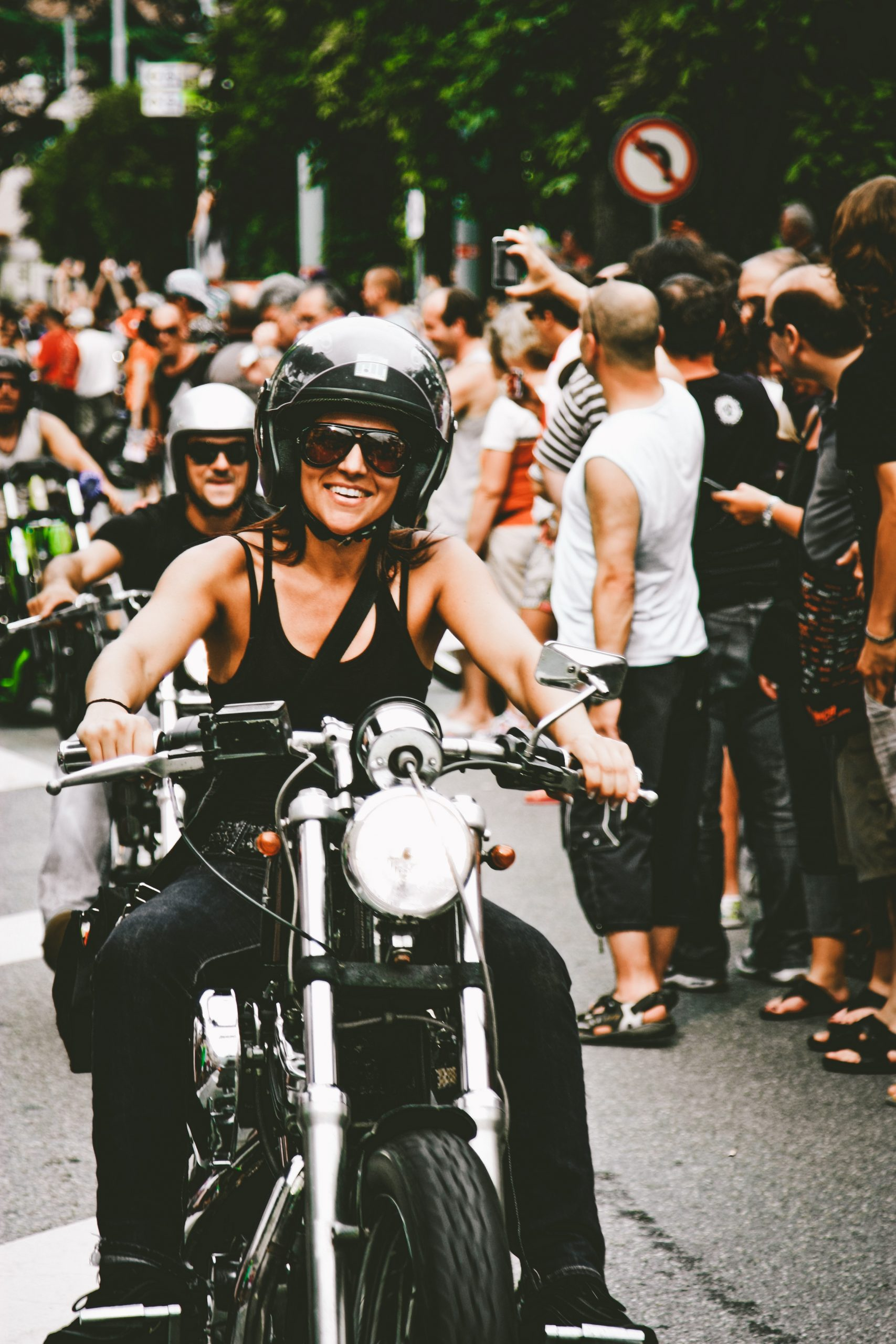 Girls just wanna have fun harley davidson